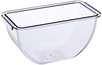 San Jamar BD101 1pt Dome and Mini Dome Standard Chillable Tray (Pack of 12)