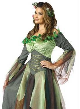 Mother Nature Earth Fairy Adult Halloween Costume S/M