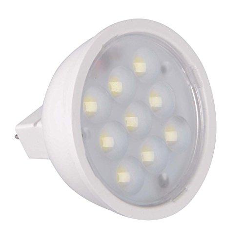 Grexistar 4W Mr16 Smd Led Spotlight Warm White Light Ac/Dc 12V, White