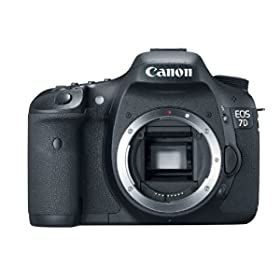 Canon EOS 7D 18 MP CMOS Digital SLR Camera with 3-inch LCD