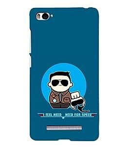 EPICCASE NFS Mobile Back Case Cover For Xiaomi Redmi Mi4i (Designer Case)