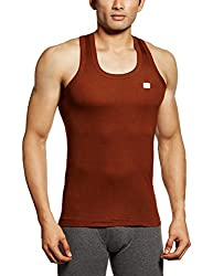 RUPA Frontline Men's Cotton Vest (890397845104 (FRONTLINE-Chocolate-75)