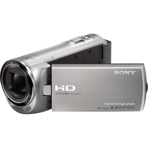 Sony HDR-CX220/S High Definition Handycam Camcorder With 2