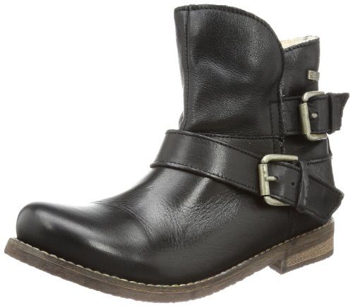 Buffalo London Womens ES 30243 GARDA Schlupfstiefel Black Schwarz (PRETO 01) Size: 7 (41 EU)