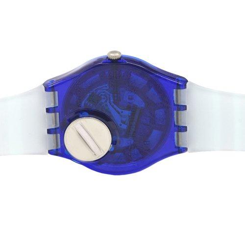 Swatch Unisex GN237 Blue Plastic Watch 4