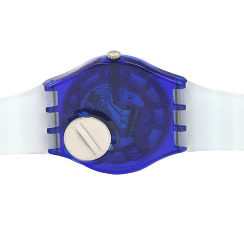 Swatch Unisex GN237 Blue Plastic Watch 4