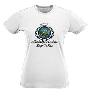 Risa Tropical Resorts Hotel Tshirt Womens Xsmall - XXLarge