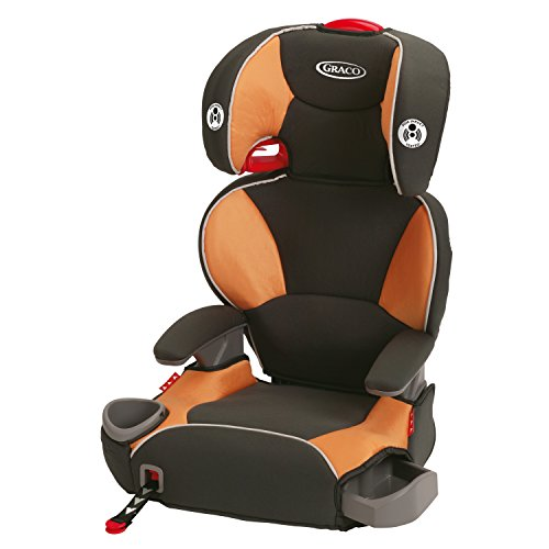 Learn More About Graco Affix Youth Booster Seat with Latch System, Tangerine