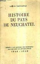 Histoire du pays de neuchâtel.…