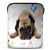 Hello Puppy Neoprene Tablet Sleeve Case for 10