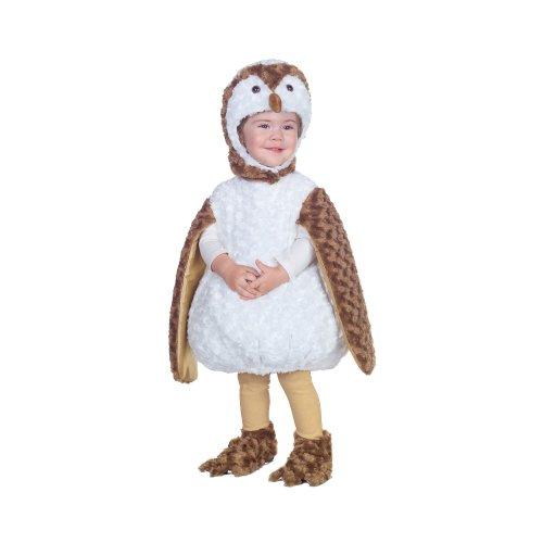 Toddler White Barn Owl:2T-4T (Medium)