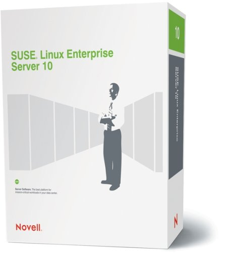 SUSE LINUX Enterprise Server 10 for Itanium & IBM Power with/Priority Support Bundle Strong Encryption (128+ bit) (Maximum 32 CPU) 1-Year English and German