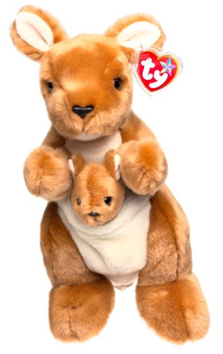 TY Beanie Buddy - POUCH the Kangaroo [Toy] - 1