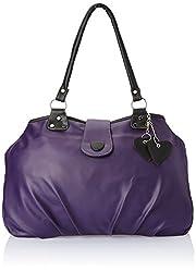 Fostelo Women's Handbag (Purple) (FSB-238)