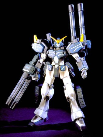 Bandai Hobby EW-03 Gundam Heavyarms Custom Endless Waltz 1/144 High Grade Fighting Action Kit