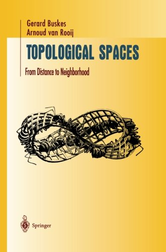 Topological Spaces: From Distance to Neighborhood (Undergraduate Texts in Mathematics)