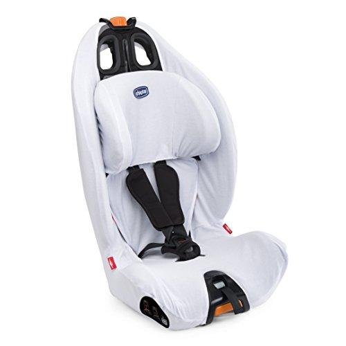 Chicco 06079532000000 Per Gro-Up 123 Fodera Seggiolino Auto, Bianco