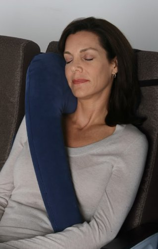 Travelrest - The Ultimate Inflatable Travel Pillow *** World's Best Selling Travel Pillow*** (direct from the manufacturer) For Airplanes, Cars, Buses, Trains, Wheelchairs & More