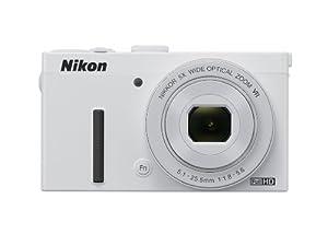 """Nikon Coolpix P340 Appareil photo numérique compact 12,2 Mpix Écran LCD 3"""" Zoom optique 5X Blanc"""