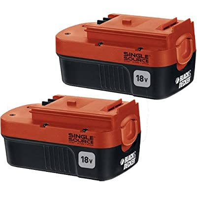 Black & Decker HPB18-OPE2 2-Pack 18-volt NiCd Battery for Outdoor Power Tools