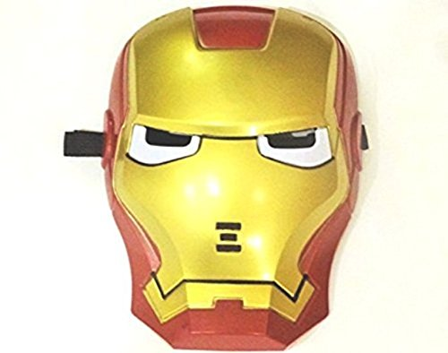 Halloween Iron Man Light Up Mask