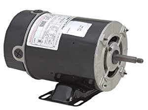A.O. Smith BN24V1 3/4 HP, 3450 RPM, 1 Speed, 115 Volts, 9.8 Amps, 1 Service Factor, 48Y Frame, PSC, ODP Enclosure, Rigid Base Pool Motor by Century Electric/AO Smith Motors Co