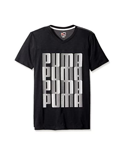 PUMA Men's Graphic V-Neck