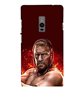 printtech WWE Edge Back Case Cover for One Plus Two ::One Plus2