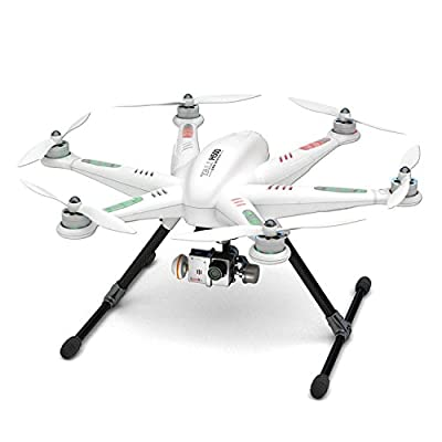 Walkera Tali H500 RTF FPV RC Drone Hexacopter with G-3D Brushless Gimbal, iLook+ Action Camera and Devo F12E