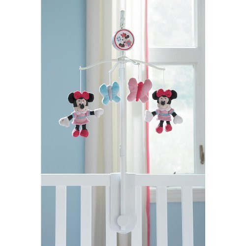 Disney Baby Minnie Mouse Musical Mobile - 1