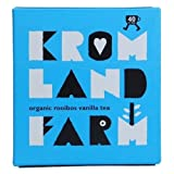 Kromland Farm Organic Rooibos Vanilla Tea (40 Bags/100g)