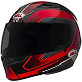 Bell Cam Adult Qualifier On-Road Motorcycle Helmet - Red - Medium