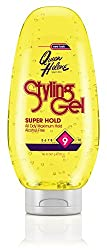 Queen Helene Styling Gel Super Hold (Bottle) 20 Ounce