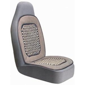 beaded seat cushion tan automotive. Black Bedroom Furniture Sets. Home Design Ideas