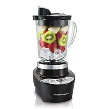 With plenty of power crush ice and blend fruits and the no mess pouring spout, the Hamilton Beach Smoothie Smart Blender is just what you need to a create your very own smoothies. The one-touch blending and Wave Action features make it easy to create...