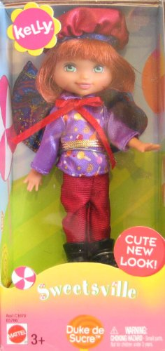 Barbie Kelly Sweetsville TOMMY Duke de Sucre (Duke of Sugar) Doll (2003)