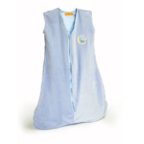 Prince Lionheart Back to Sleep Wearable Blanket, Medium, Blue