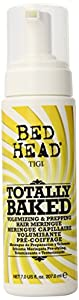 Tigi Bed Head Candy Fixation Totally Baked Volumizing and Prepping Hair Meringue, 7 Ounce