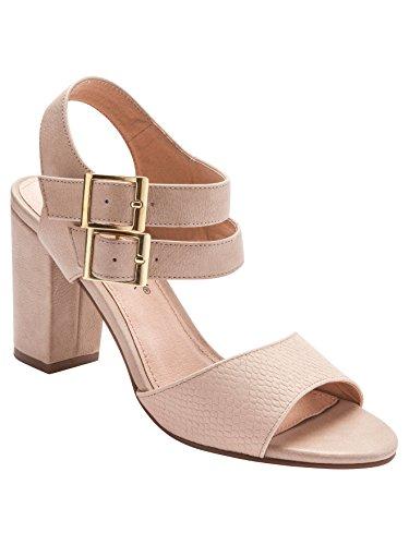 Balsamik - Sandali leggeri, con tacco alto - - Size : 37 - Colour : Beige rosa