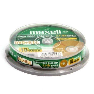Maxell Dvd+r 8.5GB - Confezione da 10