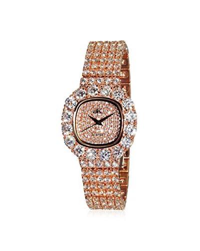 Adee Kaye Women's AK26-LRG/CR Bijoux Crystal & Brass Watch