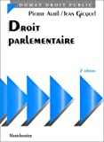 img - for Droit parlementaire (Precis Domat) (French Edition) book / textbook / text book