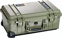 Pelican Products 1510-004-130 Medium Carry On Case with Padded Dividers (OD Green)