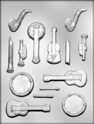 CK Products Musical Instruments Chocolate Mold
