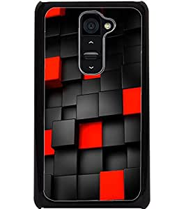 ColourCraft Printed Design Back Case Cover for LG G2