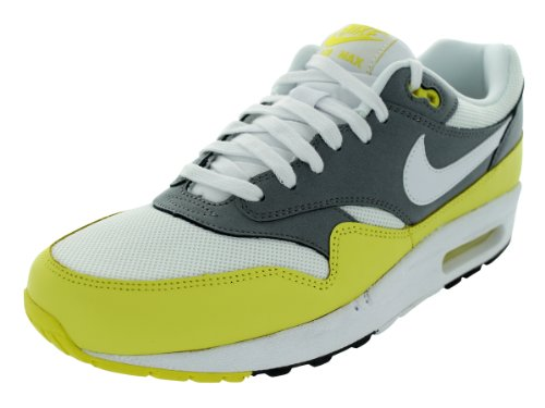 picked up fashion style fast delivery Nike Men s Air Max 1 Essential Running Shoes White White ...