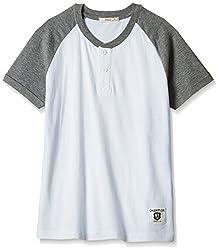Fox Boys' T-Shirt  (White_12 years_337422)
