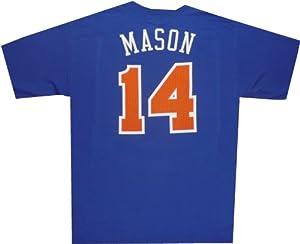 New York Knicks Anthony Mason Throwback T Shirt by Adidas by adidas