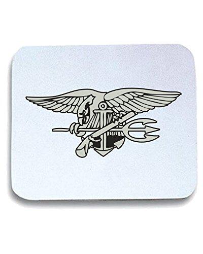 T-Shirtshock - Tappetino Mouse Pad TM0382 navy seal logo usa, Taglia taglia unica