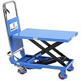 Scherenhubtischwagen manuell,Hydraulikpumpe,PU-Rollen,Tragfähigkeit: 150kg